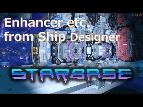【Starbase】How to make Enhancer etc. English Sub.