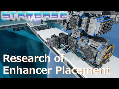 【Starbase】Research of Enhancer Placement. English Sub.
